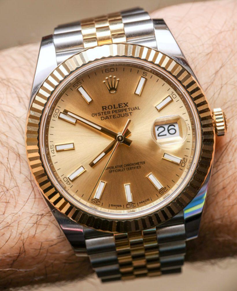 Replicas Reloj Rolex Datejust 41 A Largo Plazo Replicas