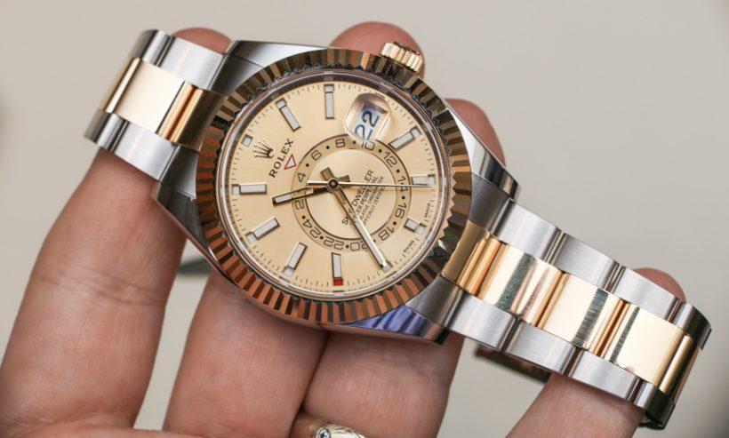 Dos Replicas Dweller Y Tonos Rolex Relojes Sky De Acero Ee9IHYWD2