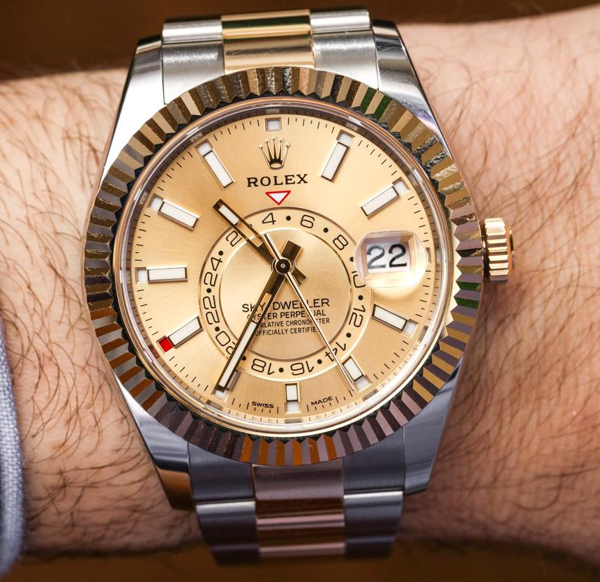 Relojes De Dos Acero Y Replicas Tonos Dweller Sky Rolex ybfgY67