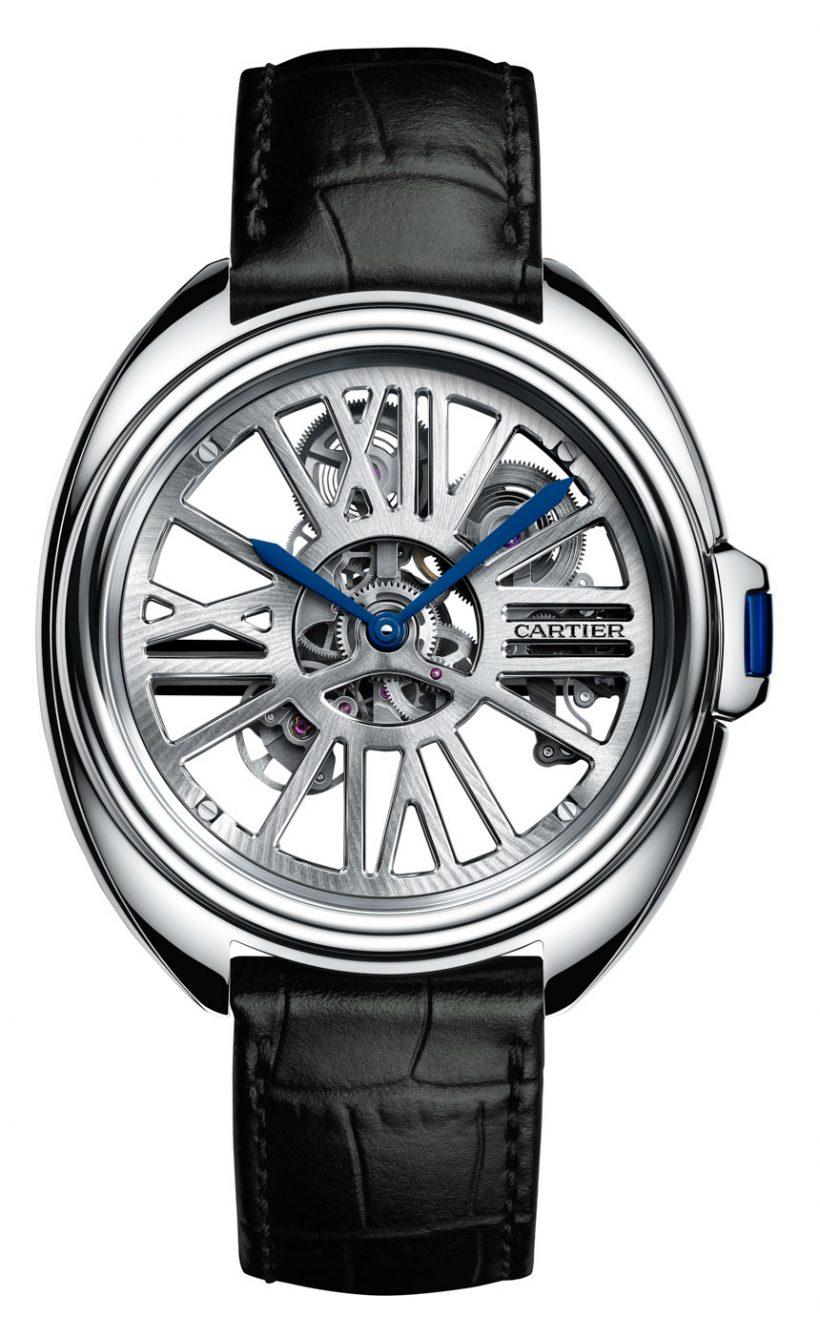 22ae2b2689b Replicas Cartier Clé Replicas Reloj Esqueleto Automático – Replicas ...
