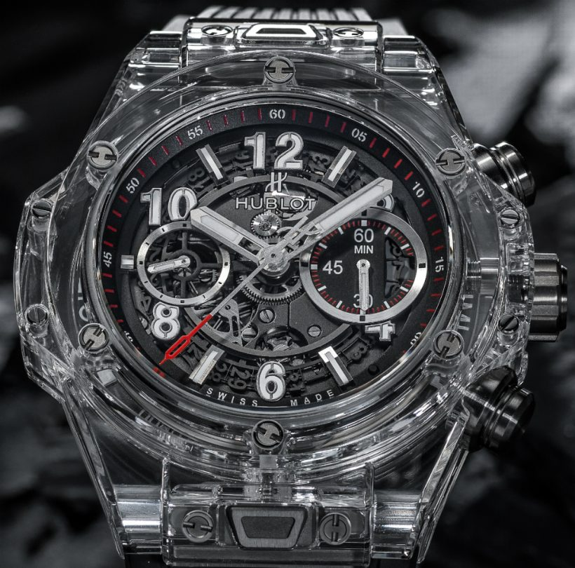 46f4c89b6ee4 Replicas Reloj Hublot Big Bang UNICO Magic Sapphire – Replicas ...