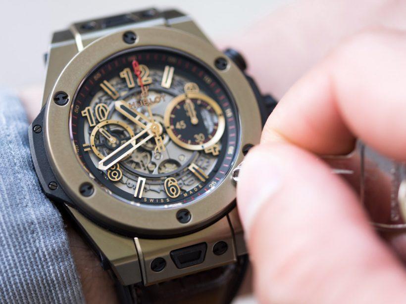 9874cd330c46 Replicas Hublot Big Bang Unico Relojes de Oro Magic Review – ¿Qué ...