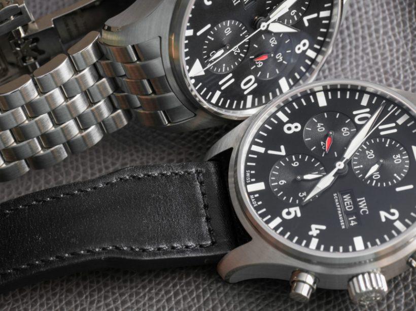 Replicas IWC Pilots Relojes Cronógrafo Reloj Opinión – Replicas ... c46906321af1