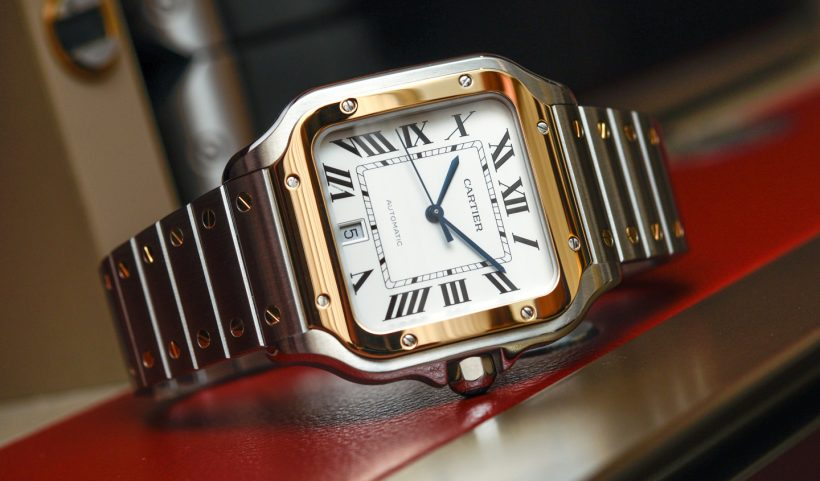 6d77f1b94121 Los replicas relojes Cartier Santos para 2018 serán un éxito entre los  compradores