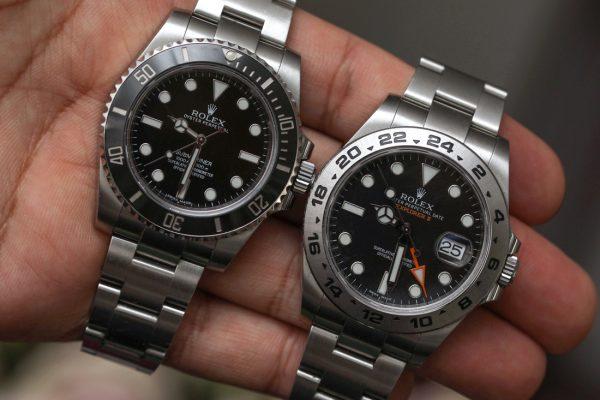 ¿Qué Replicas Rolex comprar  El Submariner vs. Explorer II Ver Replicas  Relojes de comparación 8ba896dda92c