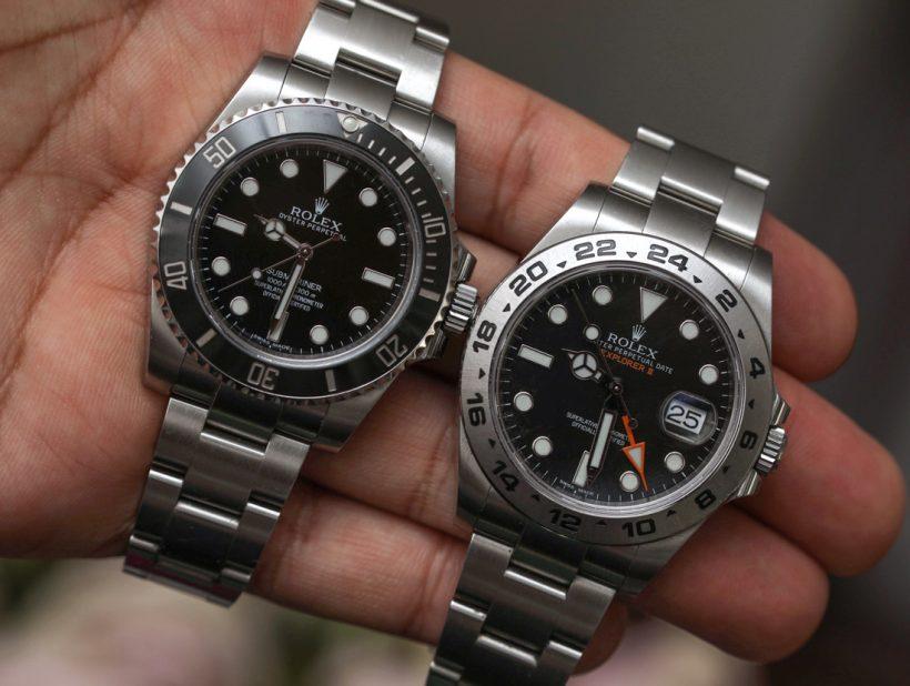 1b2c4fd7699c ¿Qué Replicas Rolex comprar  El Submariner vs. Explorer II Ver Replicas  Relojes de comparación